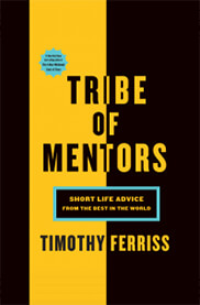 Tribe of Mentors bookcover